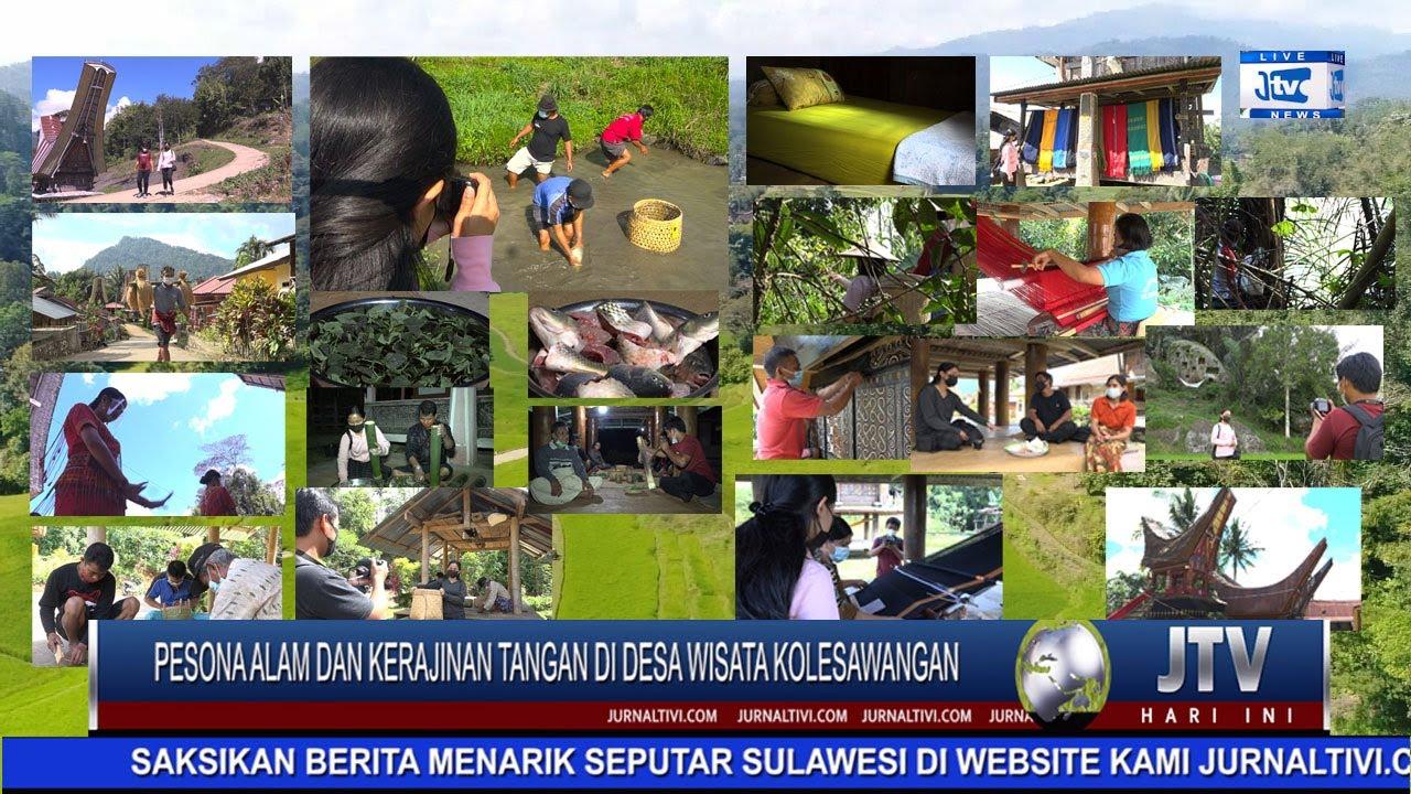 Berita Video Ayo Lihat Pesona Alam Desa Wisata Kolesawangan Sambil Menikmati Kuliner Khas Toraja Jurnal Tivi