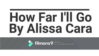 How Far I'll Go - Alissa Cara Cover by Katlyn