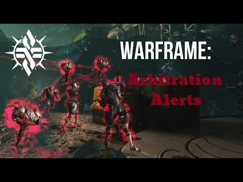 Warframe: Arbitration Alerts, everything you need to know