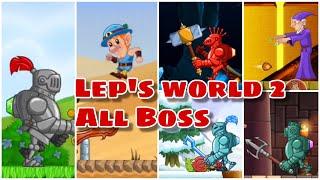 Lep's World 2 - All Boss - ALIN