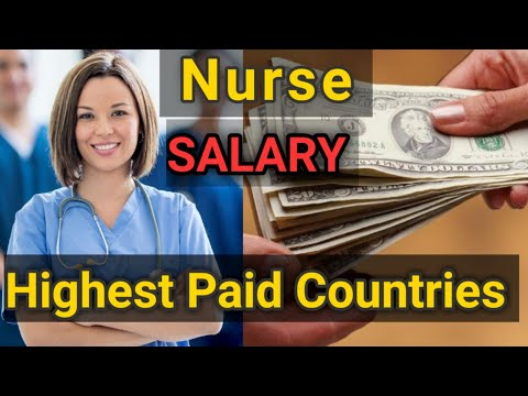 Countries With The Highest Salaries For Nurses (Nurse's Salary Around The World)