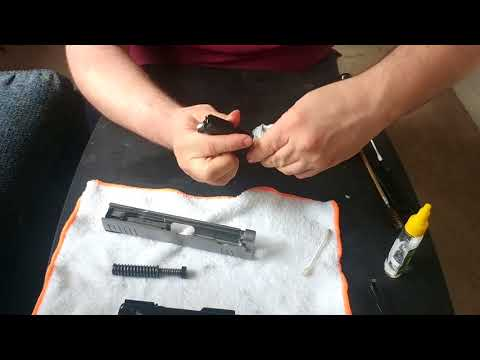 Springfield XD Mod 2 9MM Cleaning