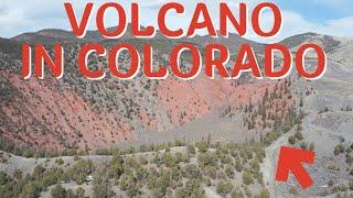 Colorado's youngest Volcano