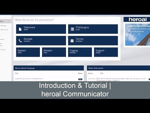 Introduction & Tutorial Heroal Communicator | Heroal Services