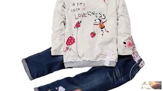 Girls Casual Autumn Clothing Set Many Sizes FREE SHIPPING!