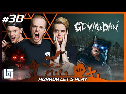 GEVAUDAN: HORROR GAME met Enzo, Joost en Don | Halloween Let