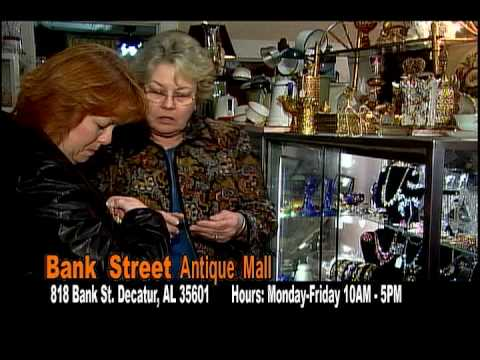 Bank Street Antique Mall spot for Cookie Logic TV Show