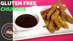 GLUTEN FREE CHURROS WITH CHOCOLATE SAUCE RECIPE  | MsDessertJunkie