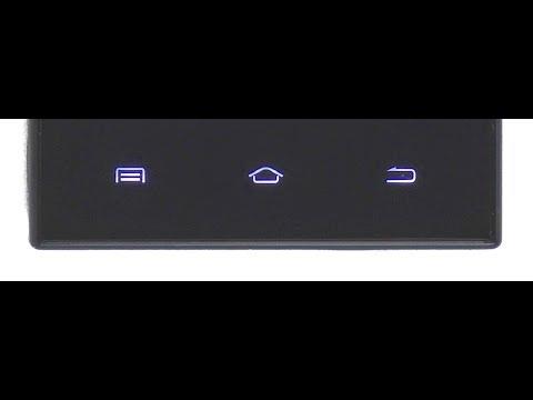 Как включить сенсорные кнопки на андроид