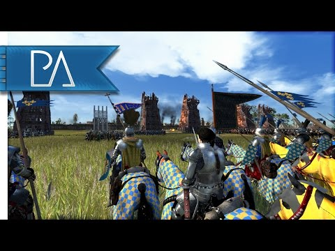 Siege of Orléans: Joan of Arc - Medieval Kingdoms Total War 1212AD Mod Gameplay