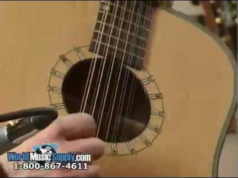 Washburn Acoustic 12-String Guitar D46S12 Demo