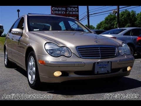 2003 mercedes benz c class c240 4matic all wheel drive youtube. Black Bedroom Furniture Sets. Home Design Ideas