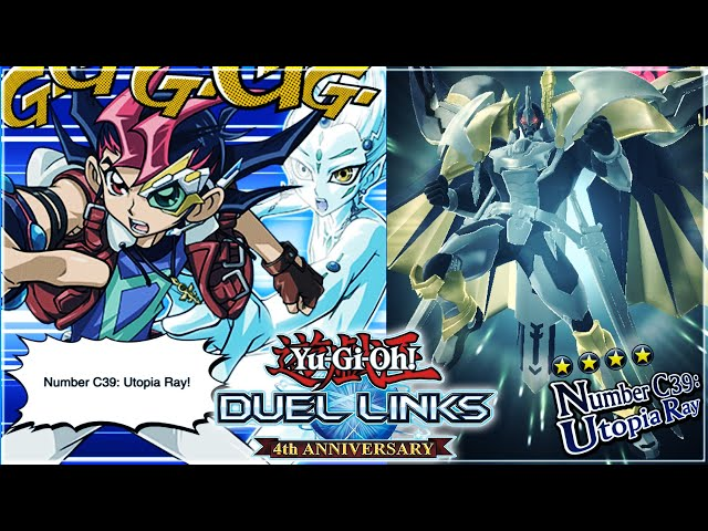 Number C39: Utopia Ray NEW ANIMATION! | Yu-Gi-Oh! Duel Links
