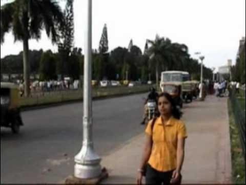 Views of Vidhan Soudh before construction of Bangalore Metro