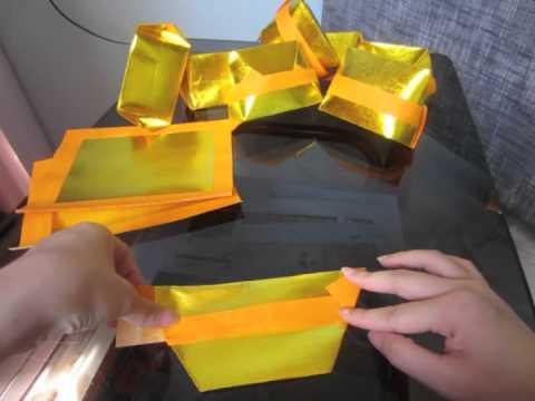 Folding Joss Paper  YouTube