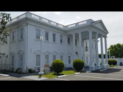 I visited the White House...in Anaheim, CA