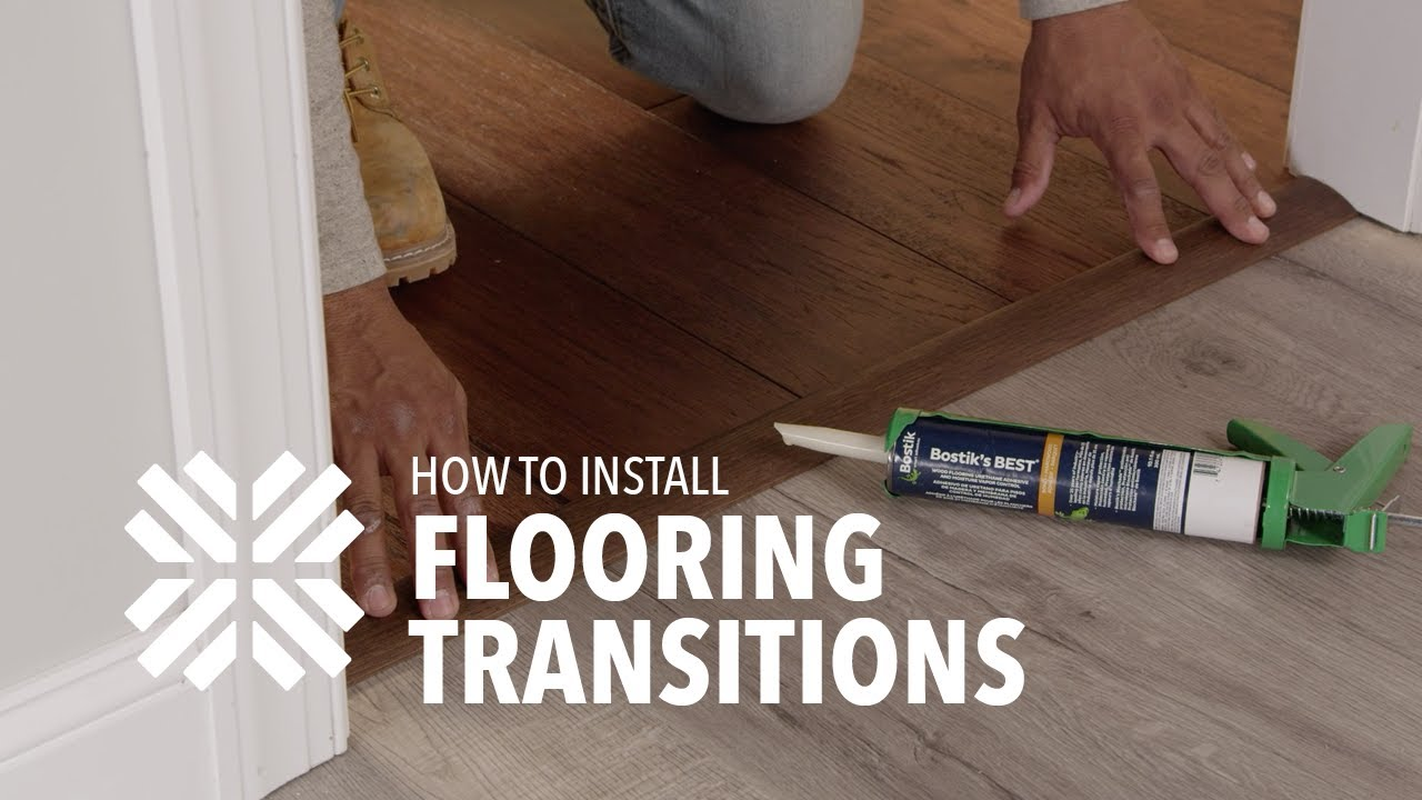 How To Install Transitions For Hardwood, Laminate Flooring Trim Glue