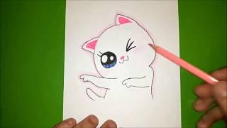 Как нарисовать милую КОШКУ? Лёгкие рисунки для срисовки