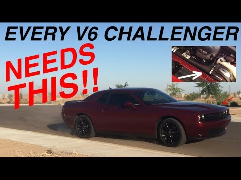 First Drive and Review of the aFe Momentum GT Cold Air Intake on My 2017 Dodge Challenger SXT Plus