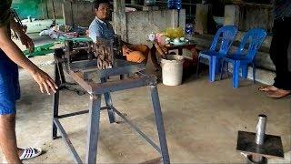 Phát minh máy uốn, cắt, bẻ đai sắt xây dựng thủ công giá rẻ | THIẾT BỊ CÔNG TRÌNH