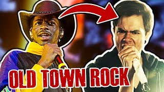 old town road, but it's rock