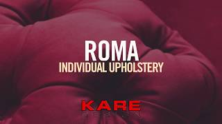 KARE Design | ROMA individual upholstery