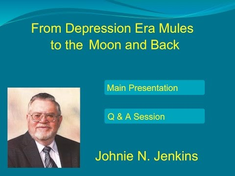 Cotton From Depression Era Mules to the Moon and Back