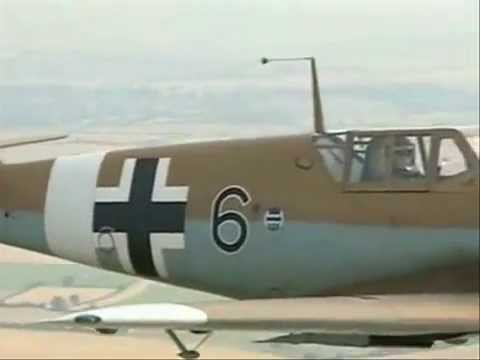 WW2 German Messerschmitt Bf 109 (ME-109) Fighter Plane