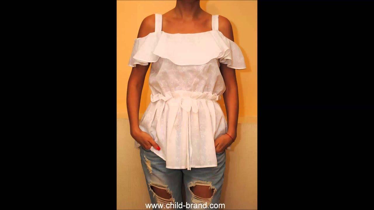 AVON Женская летняя блузка - YouTube