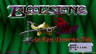 Bloodstone gameplay (PC Game, 1993)
