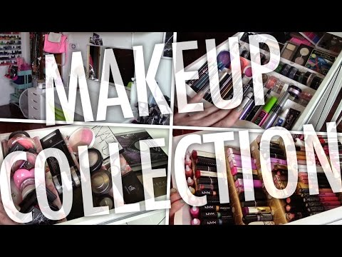 MAKEUP COLLECTION, STORAGE + VANITY TOUR — 2016