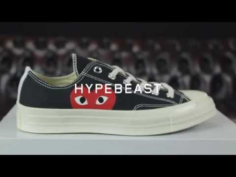 First Impressions of the Comme des Garcons PLAY x Converse Chuck Taylor All Star 70s