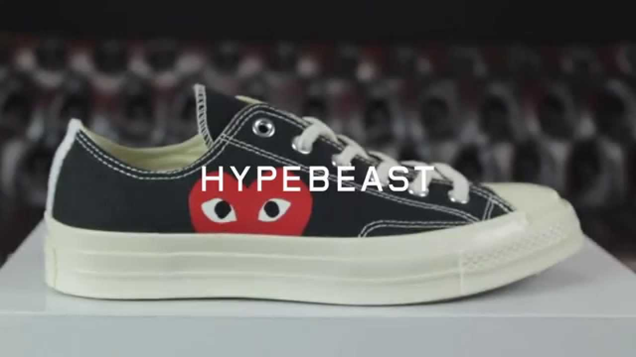 45841b053c41 First Impressions of the Comme des Garcons PLAY x Converse Chuck Taylor All  Star 70s - YouTube