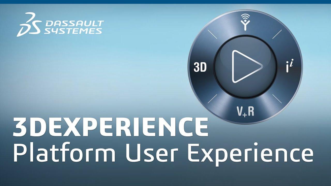 3d Interactive Wallpaper 3dexperience Platform User Experience Dassault Syst 232 Mes