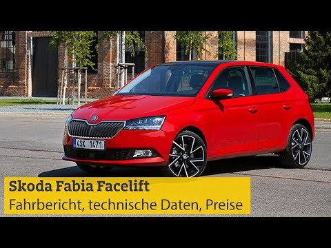 Škoda Fabia Facelift: Fahrbericht, technische Daten, Motoren, Preise | ADAC 2018
