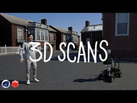 How to use 3D Scans to Build a Photo Real Scene | Cinema 4D Redshift