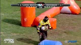 2013 NCPA College Paintball Champs Prelims - Cal State Long Beach vs Kennesaw State