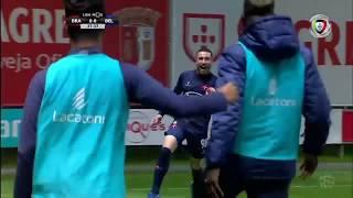 Goal   Golo Kikas: Sp. Braga 0-(1) Belenenses (Liga 18/19 #23)