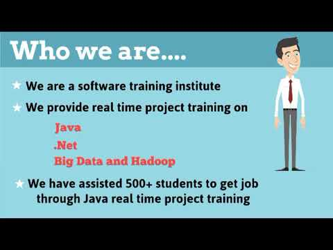 Java/J2EE Real Time Projects Training institute in Ameerpet