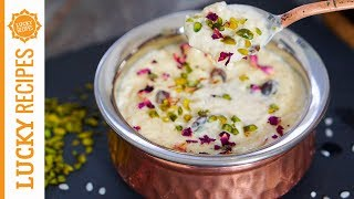 Payesh Rezept - Kostbarer indischer Milchreis mit Pistazien und Kardamom