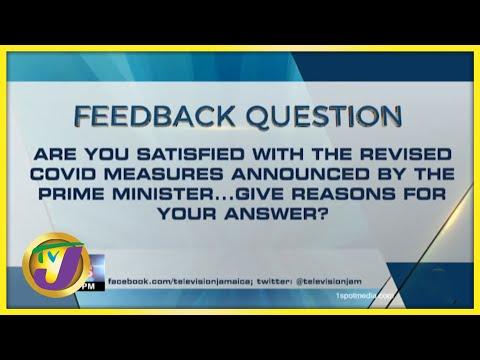 Feedback Question   TVJ News - August 20 2021