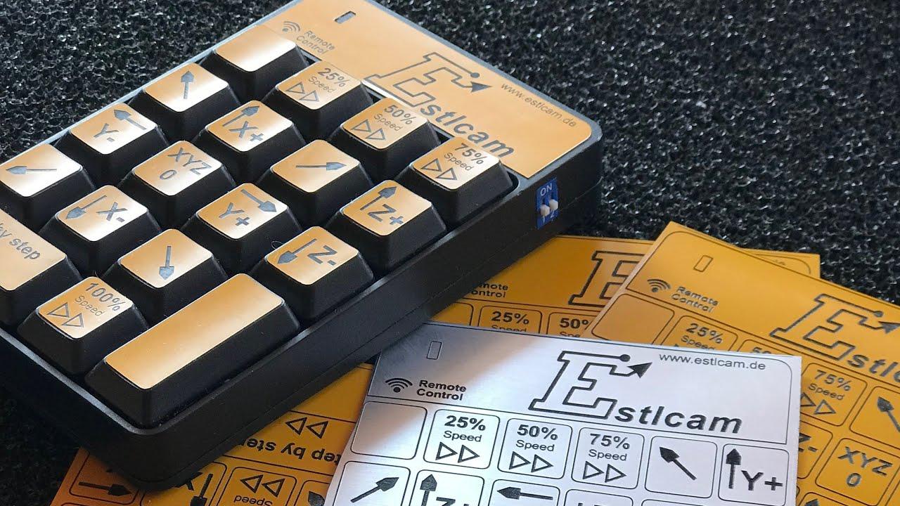 CNC Remote Control for Estlcam