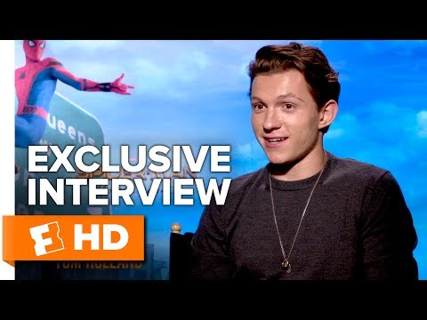 Tom Holland Flips Out & Sexy Aunt May – Spider-Man: Homecoming (2017) Interview | All Access