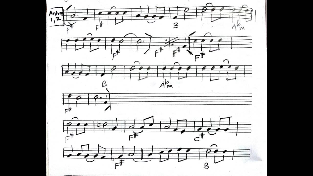 Main Rahoon Ya Na Rahoon Chords And Staff Notation Youtube