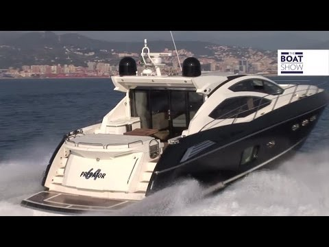 [ENG]  SUNSEEKER PREDATOR 64 - Luxury Yacht Review - The Boat Show