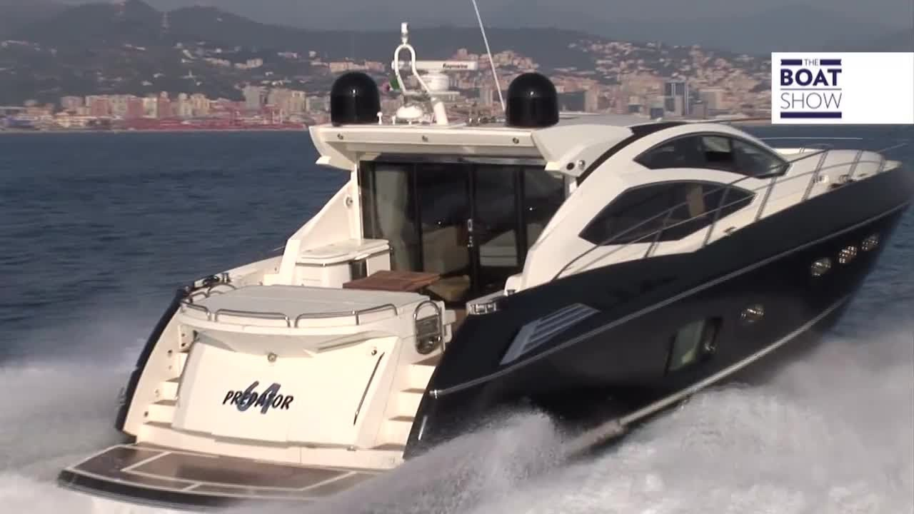 Eng Sunseeker Predator 64 Luxury Yacht Review The Boat Show