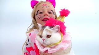 Nastya e Diana comemoram seu quinto aniversário emgrande estilo