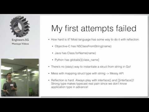 How to build an API in Go - Gophers Meetup