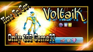 Monster Legends - How To Get A VoltaiK for 195 gems! Hatching Mystery and Darkzgul