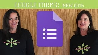 New Google Forms 2016 Tutorial